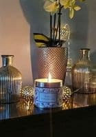 Black Pomegranate Scented Candle Tin 35 hour